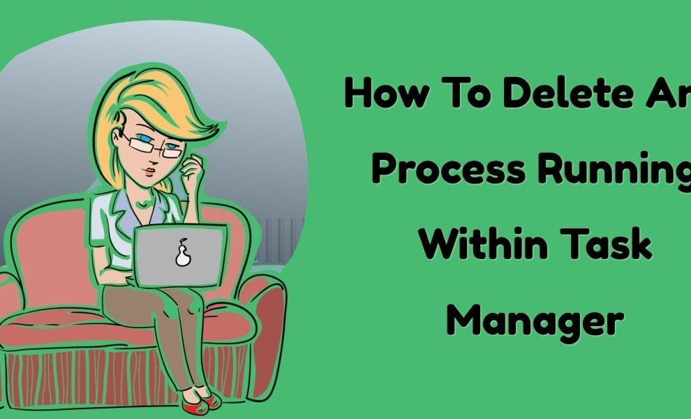 Delete Any Process Running Within Task Manager