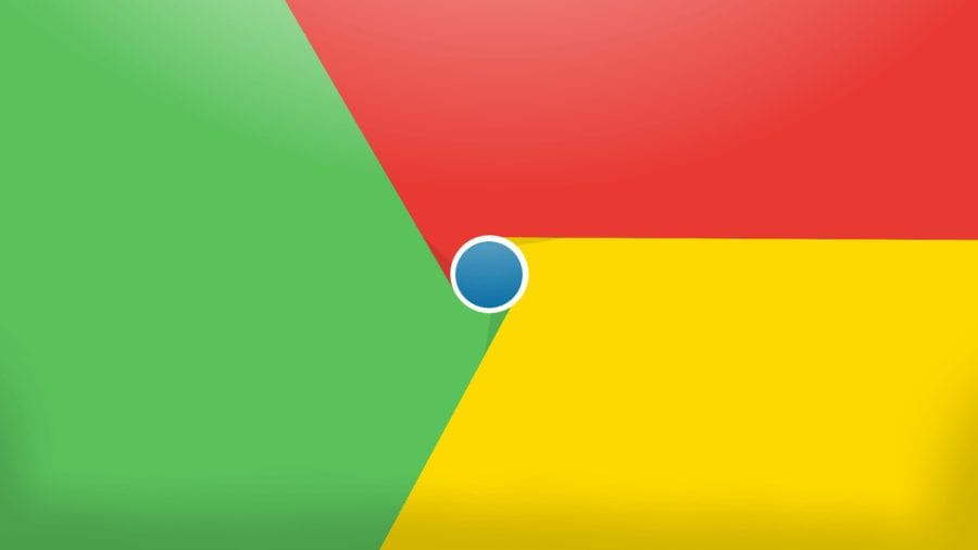 google chrome banner