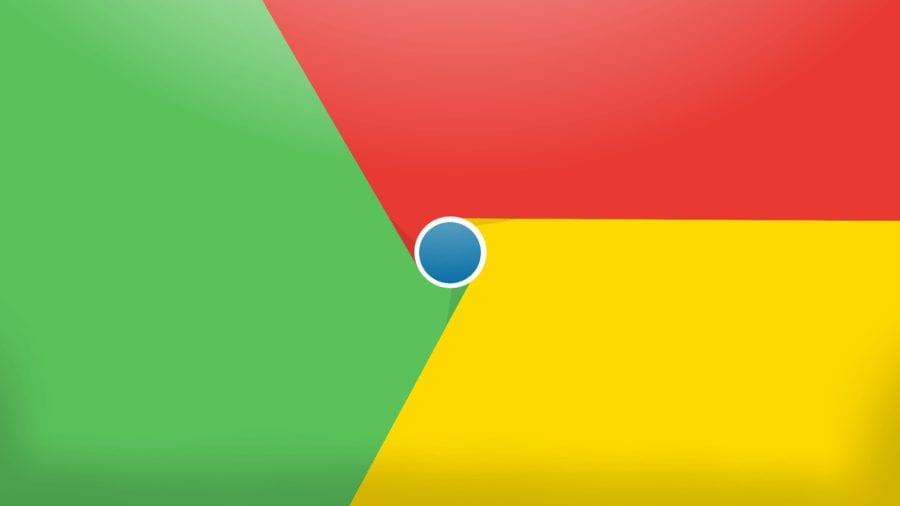 google chrome banner