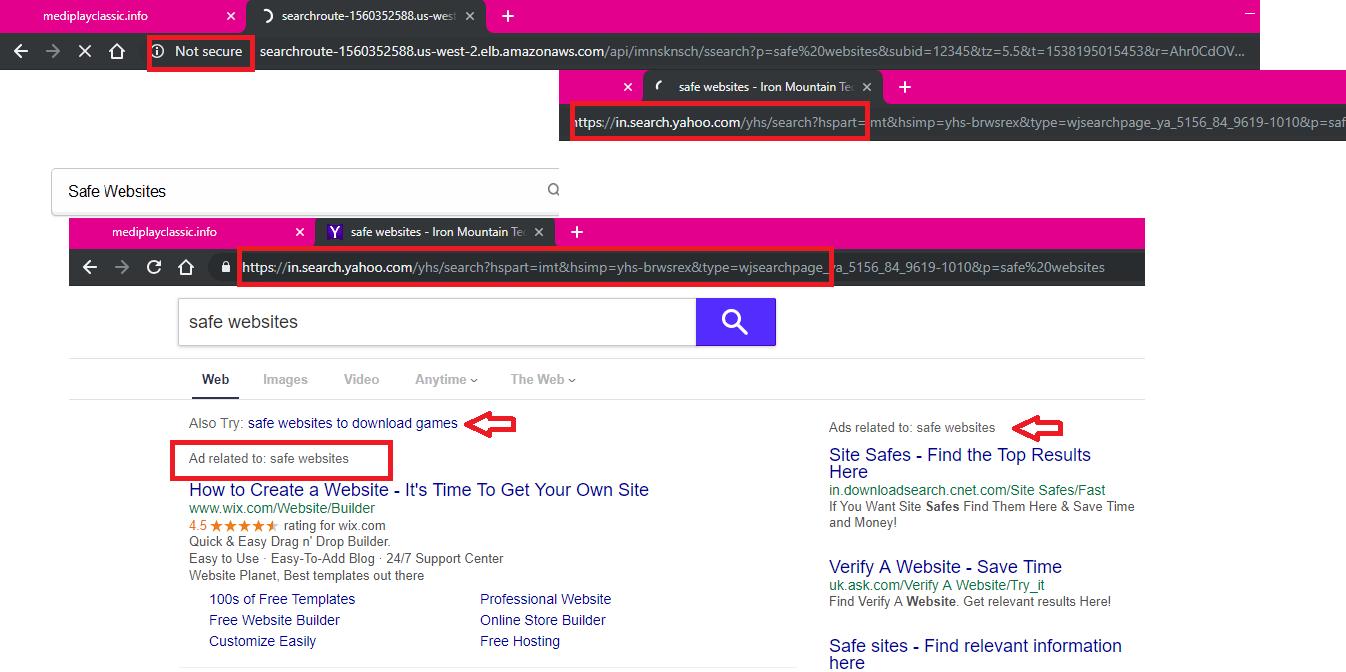 Mediplayclassic.info redirect