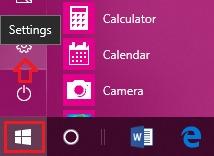 Reset Microsoft Edge Step 1