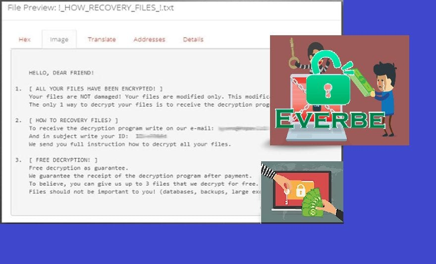 How to Remove Everbe 2 0 ransomware - Cyber security