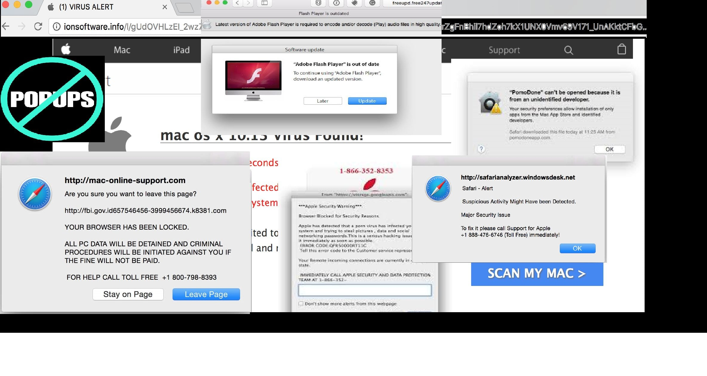 Mac Infected? Don't worry Free your Mac from Adware, Pop-up Ads and Viruses