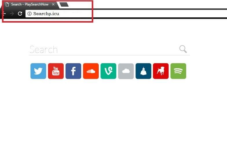 Remove Searchp.icu Mac