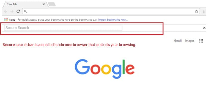 How do I Remove Secure Search bar from Google Chrome? - Cyber security