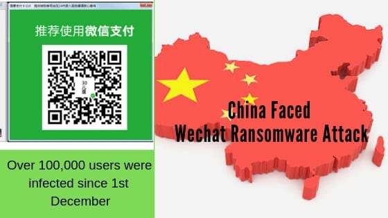 China Faced Wechat Ransomware Attack