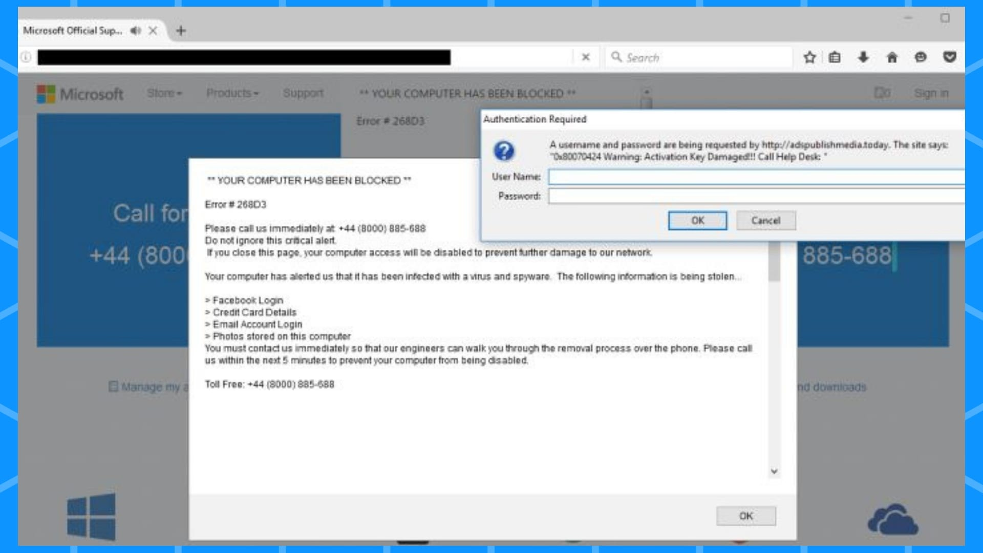 Microsoft Error 268D3