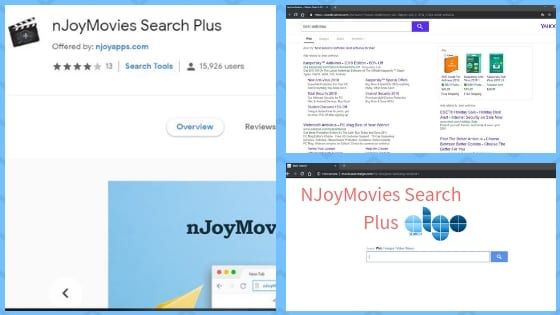 Remove NJoyMovies Search Plus