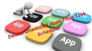 Remove Unwanted Programs From Scheduled Tasks