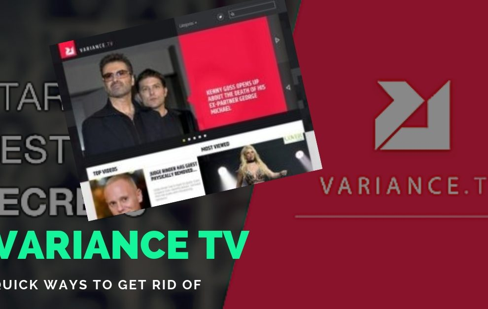 REmove Variance TV Adware