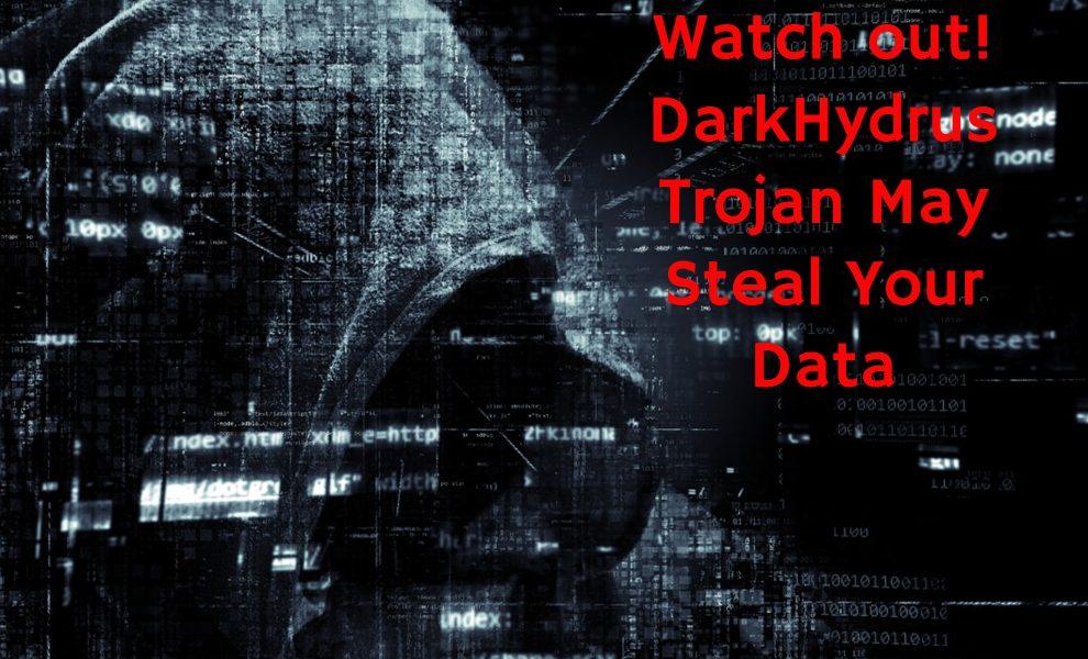 Remove DarkHydrus Trojan