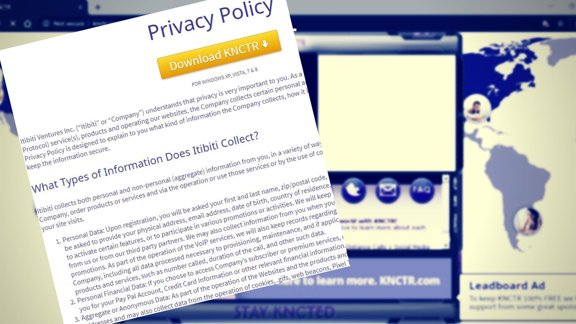 knctr privacy policy
