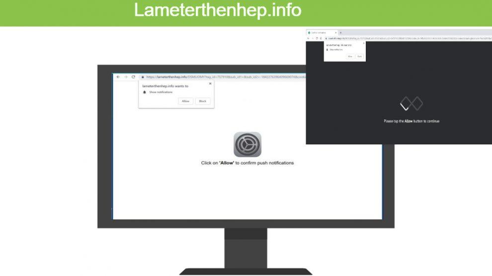 Remove Lameterthenhep.info
