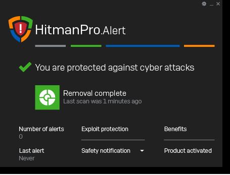 HitmanPro.Alert step 8