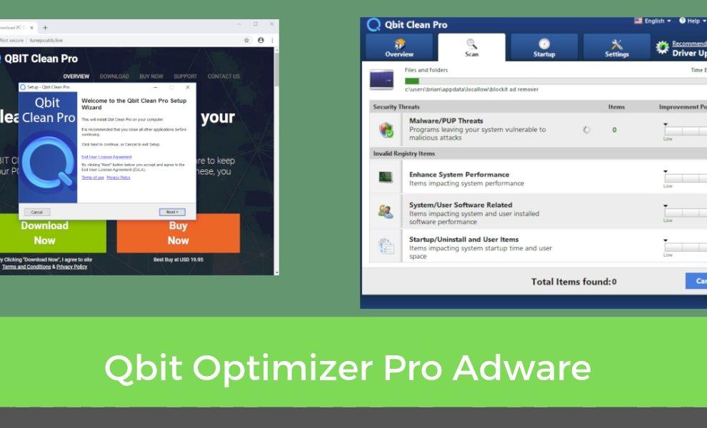 Remove Qbit Optimizer Pro Adware