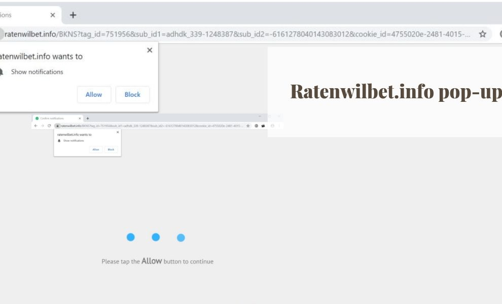 Remove Ratenwilbet.info redirect