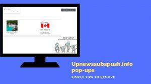 Remove Upnewssubspush.info popups