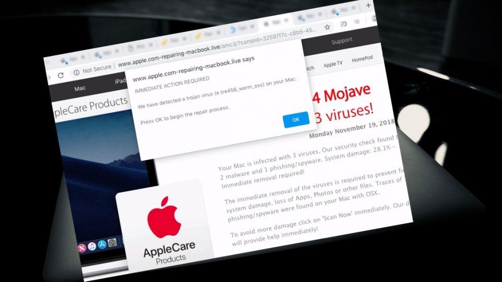 Remove Apple.com-scan-macbook.live From Mac