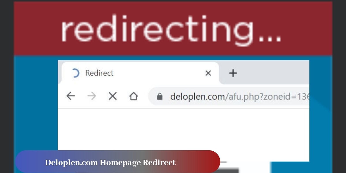 Remove Deloplen.com Homepage Redirect