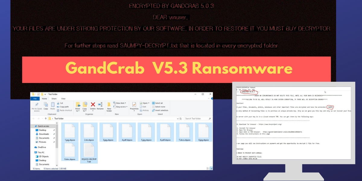 GandCrab V5.3 Ransomware