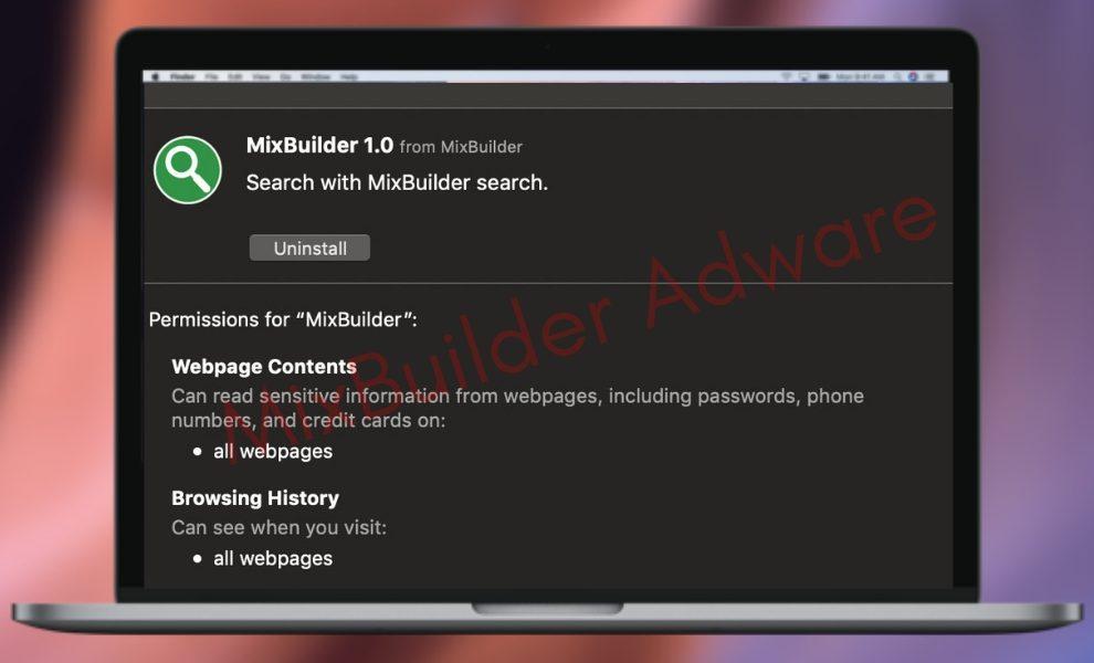 Remove MixBuilder Adware From Mac