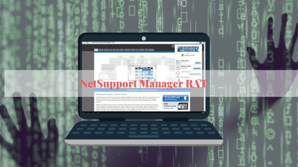 Remove NetSupport Manager RAT Malware