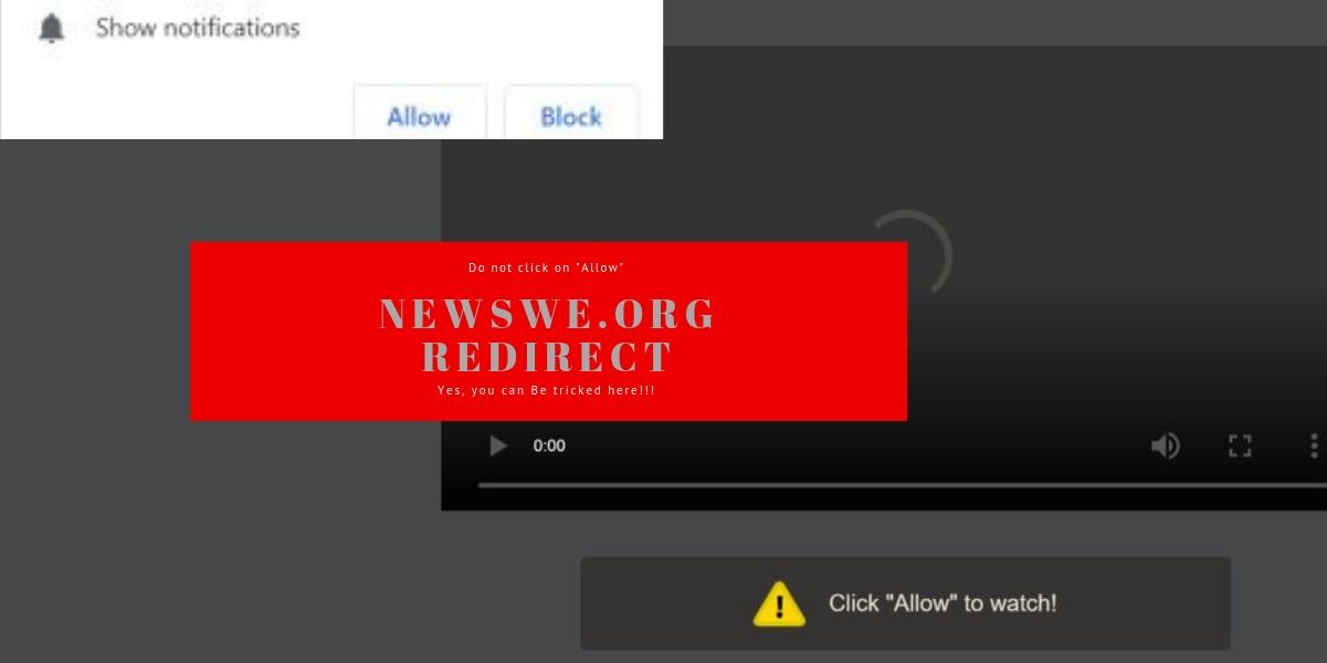 Remove Newswe.org Redirect Pop-ups