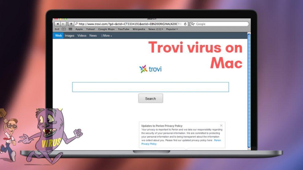 Remove Trovi virus From Mac