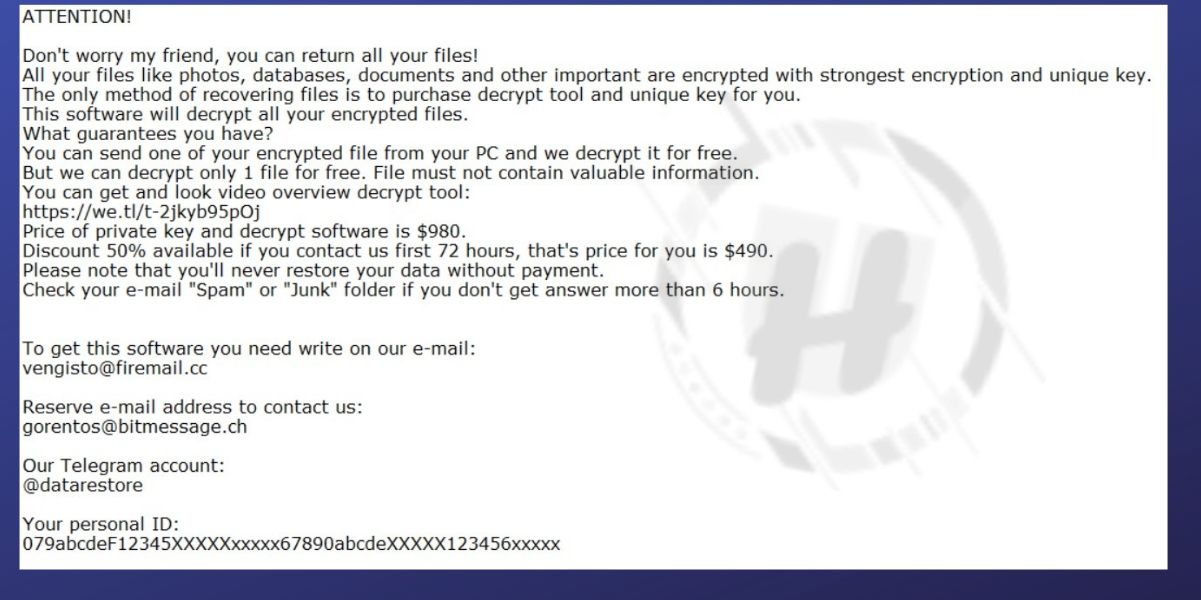 .rezuc Ransomware
