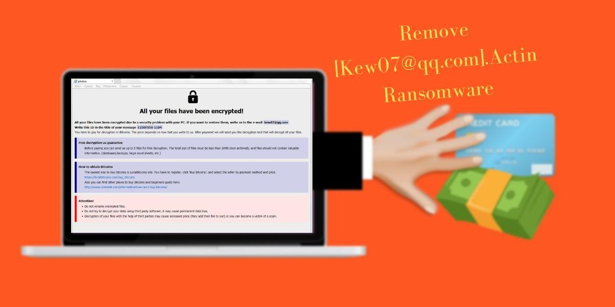 Remove Actin Ransomware