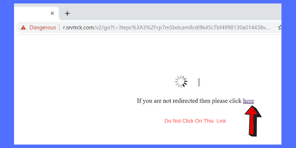 R.srvtrck.com Redirect