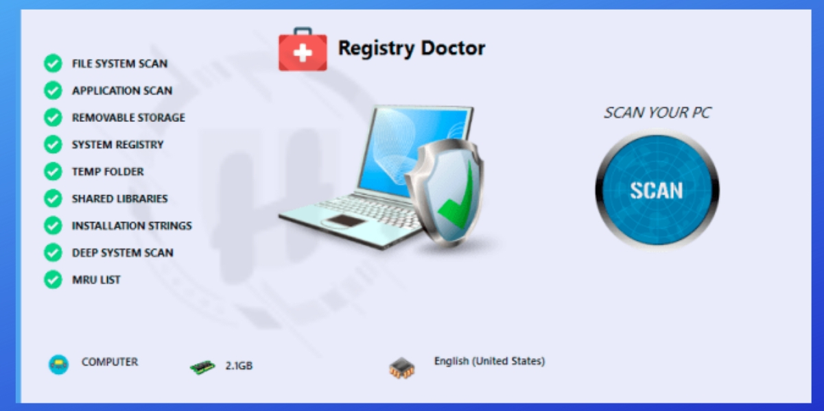 Registry Doctor Fake Tool
