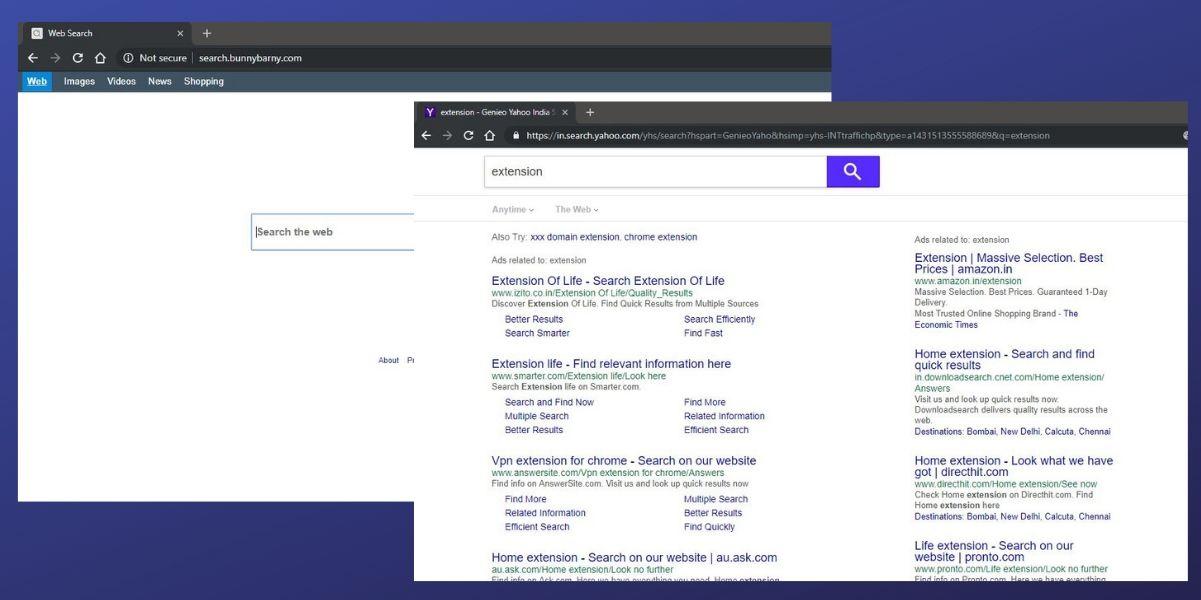 Search.bunnybarny.com Hijacker On Mac OS