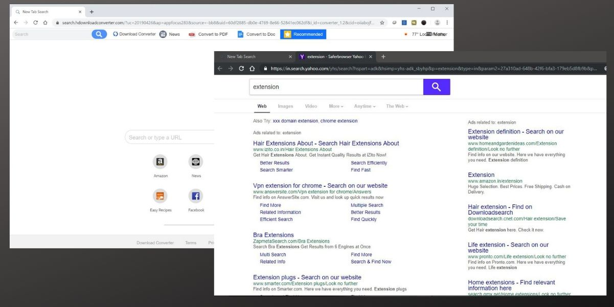 Search.hdownloadconverter.com hijacker