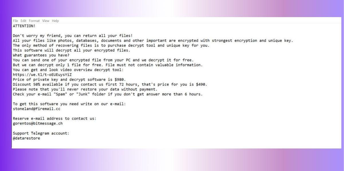 .vesad file ransomware