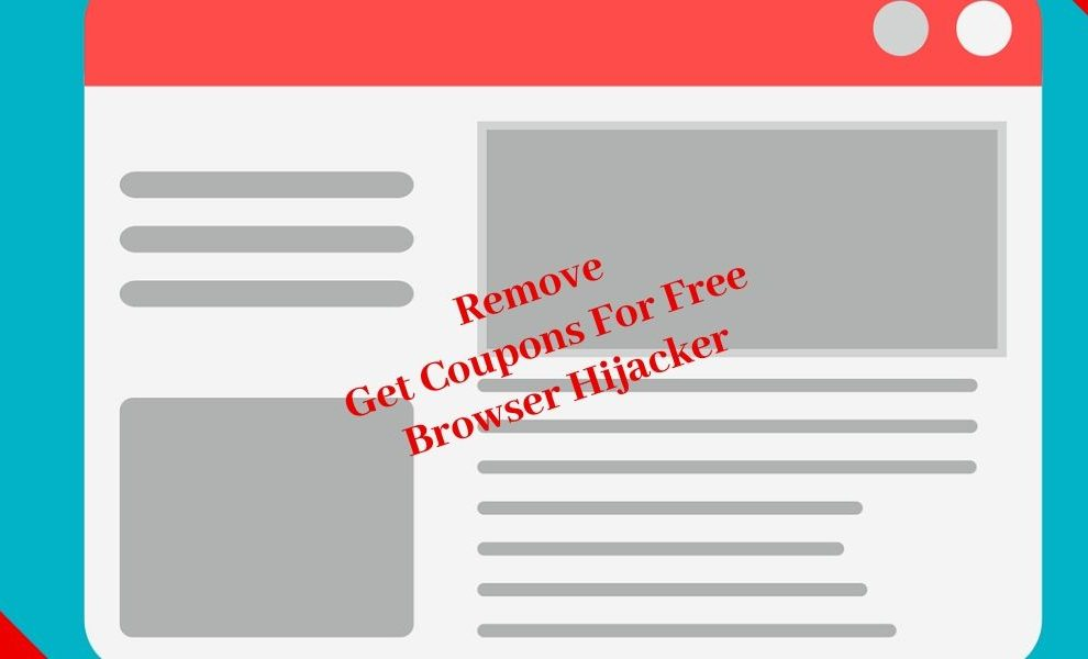 Remove Get Coupons For Free Browser Hijacker