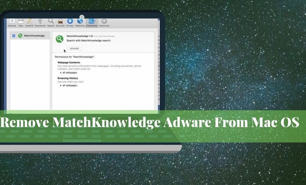Remove MatchKnowledge Adware From Mac OS