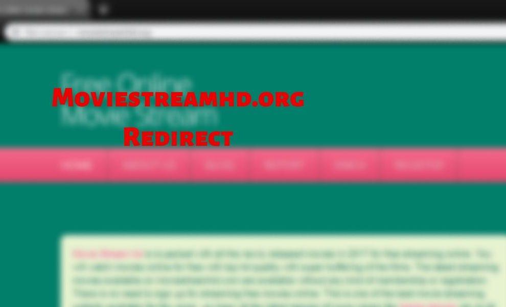 Remove Moviestreamhd.org Redirect