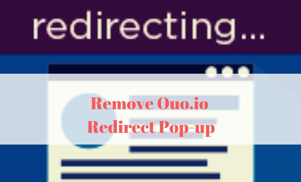 Remove Ouo.io Redirect