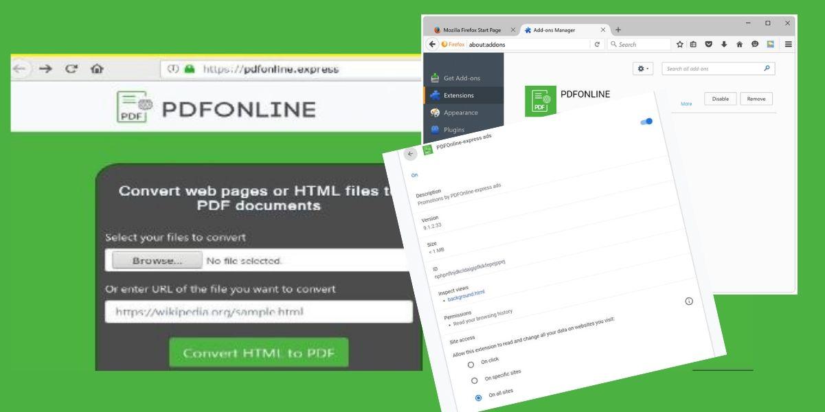 PDFOnline-express Ads