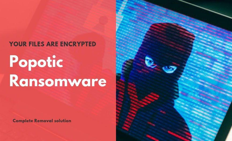 Remove Popotic Ransomware
