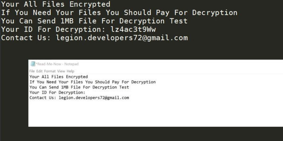 Zeropadypt Ransomware. Remove [Mail=legion.developers72@gmail.com].limbo Ransomware