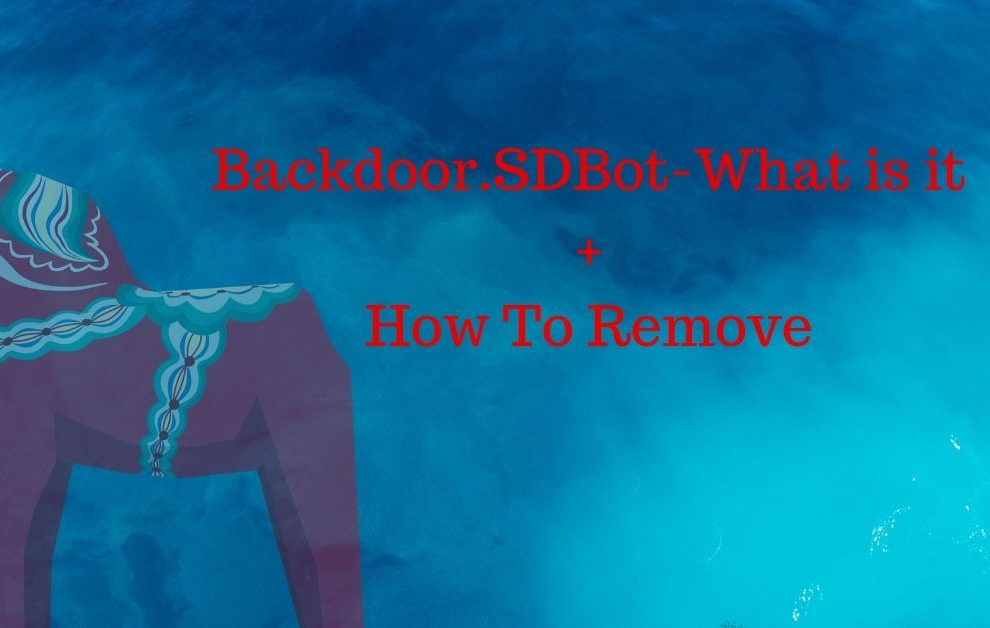 Backdoor.SDBot Removal Guide
