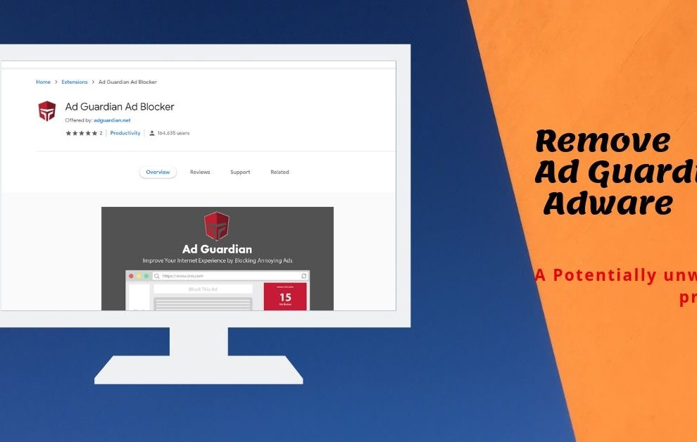 How To Remove Ad Guardian Adware