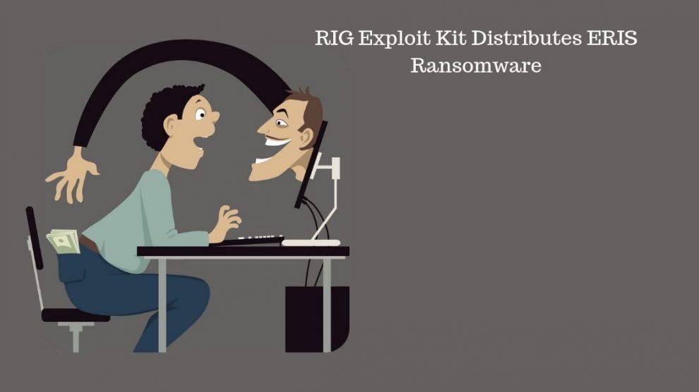 RIG Exploit Kit Distributes ERIS Ransomware