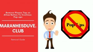 Remove Maranhesduve.club Redirect Pop-up Ads