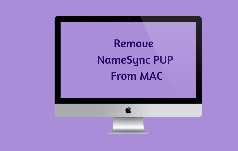 Remove NameSync PUP From MAC