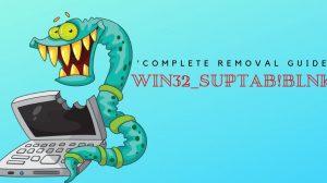 Remove Win32_suptab!blnk Virus