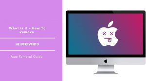 Remove HelperEvents Adware From Mac OS