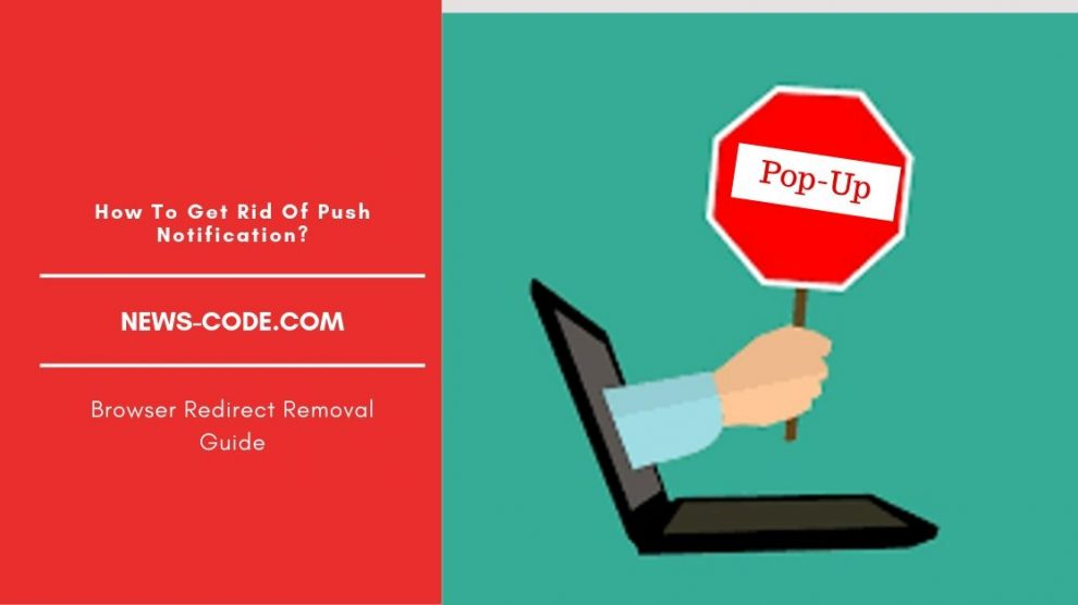 How To Remove News-code.com Redirect Pop-up